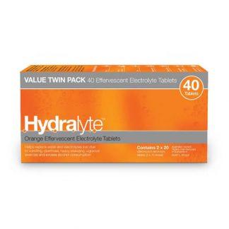 Hydralyte Tablets Orange | 40 pack