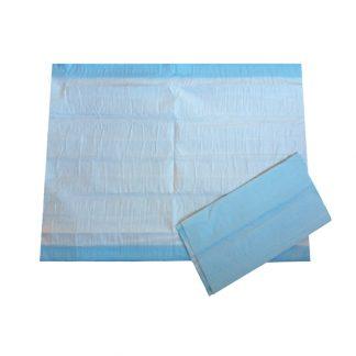 Disposable Blue Bed Sheets (aka-Cello-Blueys) | 60x40cm 25pk