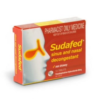 Sudafed 60mg | 12tablets